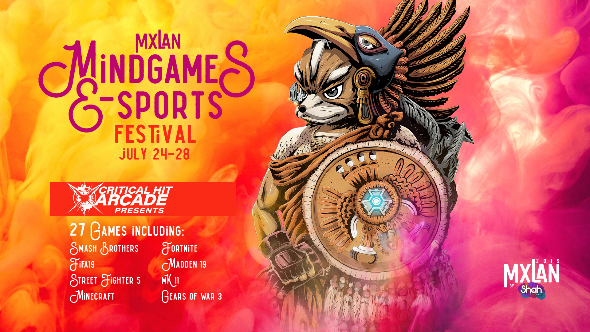 mxlan mind games e sports games gaming e-sports festival concerts mcallen festival border music calenda parade vacation texas san antonio south padre island